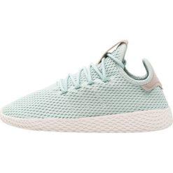 Adidas Originals PW TENNIS HU Tenisówki i Trampki ash green. Zielone trampki chłopięce marki adidas Originals, z materiału. Za 399,00 zł.