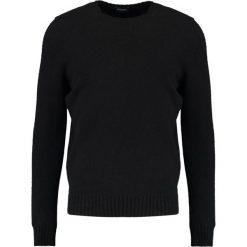 Swetry klasyczne męskie: Drumohr GIROCOLLO GARZATO Sweter black