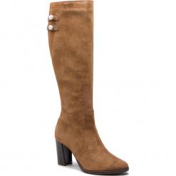 Kozaki SERGIO BARDI - Bulciago FW127361418DP 837. Brązowe buty zimowe damskie Sergio Bardi, ze skóry, na obcasie. W wyprzedaży za 299,00 zł.