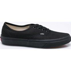 Vans - Tenisówki. Czarne tenisówki damskie marki Vans, z gumy. Za 259,90 zł.