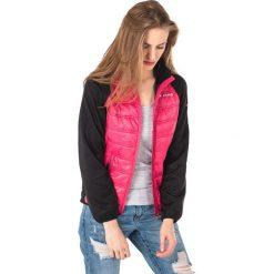 Kurtki damskie softshell: Viking Kurtka damska Primaloft Becky czarno-różowa r. M (7506409M)