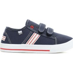 Granatowe Tenisówki Boys Way. Niebieskie buty sportowe chłopięce Born2be, z materiału, z okrągłym noskiem. Za 24,99 zł.