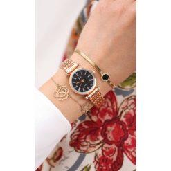 Zegarki damskie: Czarno-Złoty Zegarek I Want You More