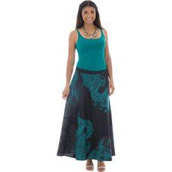 Minispódniczki: Spódnica w kolorze czarno-zielonym