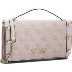 Torebka GUESS - Florence HWSG69 91790  ROS. Czerwone torebki klasyczne damskie Guess, z aplikacjami, ze skóry ekologicznej. Za 399,00 zł.