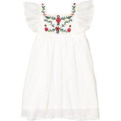 Sukienki dziewczęce: Sukienka ze wstawką wyszywaną w kwiaty 3-12 lat