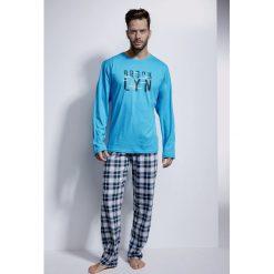 Piżama męska CORNETTE Brooklyn. Szare piżamy męskie Astratex, m, z dzianiny. Za 117,99 zł.