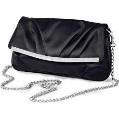 """Torebka wieczorowa """"Rebecca"""" bonprix czarny. Czarne torebki klasyczne damskie bonprix, z satyny. Za 69,99 zł."""
