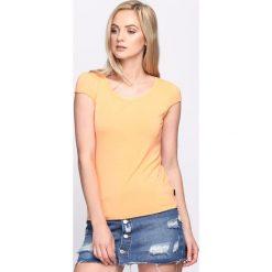 T-shirty damskie: Pomarańczowy T-shirt Ascent