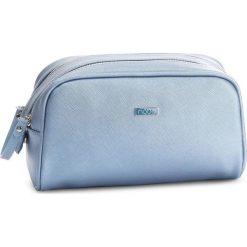 Kosmetyczka NOBO - NCOS-E02-C012 Niebieski. Niebieskie kosmetyczki męskie marki Nobo, ze skóry ekologicznej. W wyprzedaży za 49,00 zł.