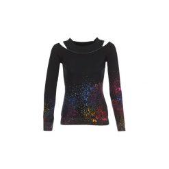 Swetry Desigual  SHIMLA. Czarne swetry klasyczne damskie Desigual, m. Za 349,00 zł.