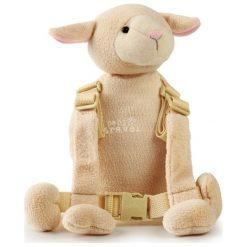 Przytulanki i maskotki: Goldbug – Szelki smycz dla dzieci z maskotką – Owieczka