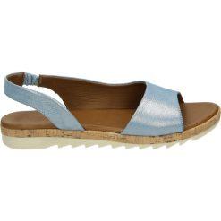 Sandały damskie: Sandały – 214404 FLO BL
