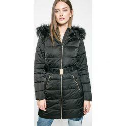 Answear - Płaszcz Blossom Mood. Szare płaszcze damskie z futerkiem marki bonprix. W wyprzedaży za 159,90 zł.