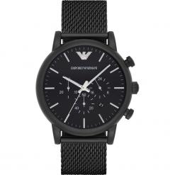 Zegarek EMPORIO ARMANI - Luigi AR1968 Black/Black. Czarne zegarki męskie Emporio Armani. Za 1890,00 zł.
