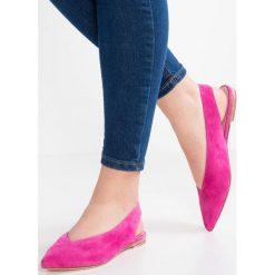 Baleriny damskie lakierowane: Kennel + Schmenger ZONE Baleriny pink