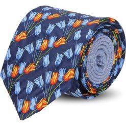 Krawat winman granatowy classic 217. Niebieskie krawaty męskie Recman. Za 129,00 zł.