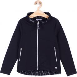 Bluza. Czarne bluzy dziewczęce rozpinane CHIC UNIQUE, z bawełny, z długim rękawem, długie. Za 64,90 zł.