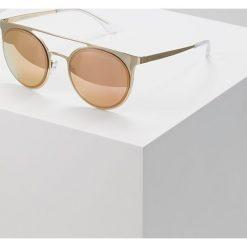 Emporio Armani Okulary przeciwsłoneczne pale goldcoloured. Żółte okulary przeciwsłoneczne damskie lenonki Emporio Armani. Za 689,00 zł.