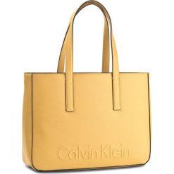 Shopper bag damskie: Torebka CALVIN KLEIN BLACK LABEL - Edge Medium Shopper K60K603986 703
