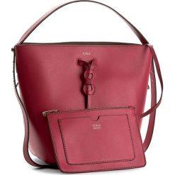 Torebka FURLA - Vittoria 874437 B BJZ4 VFO Ruby. Czerwone torebki worki Furla, ze skóry. W wyprzedaży za 639,00 zł.