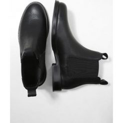 Polo Ralph Lauren SOFT MILLED PULL UP NORMANTON Botki black. Czarne botki męskie Polo Ralph Lauren, z materiału. Za 1049,00 zł.