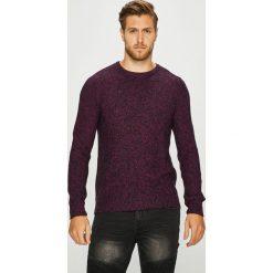 Medicine - Sweter Scottish Modernity. Czarne swetry klasyczne męskie MEDICINE, l, z bawełny, z okrągłym kołnierzem. Za 129,90 zł.