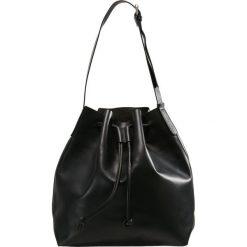 Shopper bag damskie: Samsøe & Samsøe GEMI BUCKET Torba na zakupy black