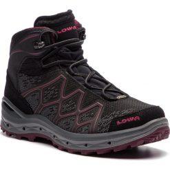 Trekkingi LOWA - Aerox Gtx GORE-TEX 320611 Black/Berry 9952. Czarne buty trekkingowe damskie Lowa. W wyprzedaży za 769,00 zł.