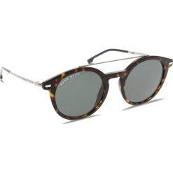 Okulary przeciwsłoneczne BOSS - 0929/S Dark Havana 086. Brązowe okulary przeciwsłoneczne damskie aviatory Boss. W wyprzedaży za 529,00 zł.