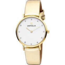 Zegarek kwarcowy w kolorze biało-złotym. Żółte, analogowe zegarki damskie Esprit Watches, metalowe. W wyprzedaży za 104,95 zł.