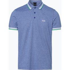 BOSS Athleisurewear - Męska koszulka polo – Paddy, niebieski. Niebieskie koszulki polo BOSS Athleisurewear, m, w paski. Za 349,95 zł.