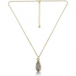 """Pozłacany naszyjnik """"Cannes"""" z kryształkami Swarovski - dł. 42 cm. Czerwone naszyjniki damskie marki W.KRUK, srebrne. W wyprzedaży za 65,95 zł."""