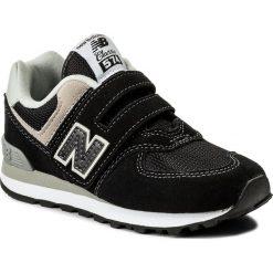 Trampki chłopięce: Sneakersy NEW BALANCE – YV574GK Czarny