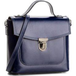 Torebka CREOLE - K10477  Granatowy. Niebieskie torebki klasyczne damskie Creole, ze skóry. Za 169,00 zł.