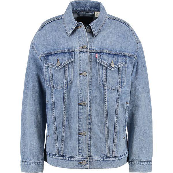 00852f0404e1c Levi's® BAGGY TRUCKER Kurtka jeansowa true life - Niebieskie kurtki damskie  Levi's®, s, bez wzorów, z bawełny, bez kaptura. W wyprzedaży za 359,20 zł.