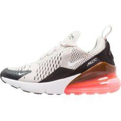 Nike Sportswear AIR MAX 270 Tenisówki i Trampki light bone/white/black/hot punch. Szare trampki chłopięce Nike Sportswear, z materiału. Za 499,00 zł.