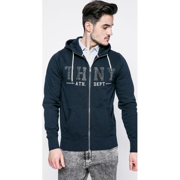 74d77d8ead3a1 Tommy Hilfiger - Bluza Banker - Szare bluzy męskie marki TOMMY ...