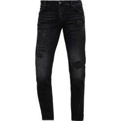 Jeansy męskie regular: Tigha BILLY THE KID Jeansy Slim Fit vintage black