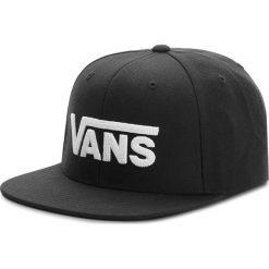 Czapka z daszkiem VANS - Drop V II Snapb VN0A36ORY28  Black/White. Czarne czapki z daszkiem męskie marki Vans, z materiału. Za 109,00 zł.