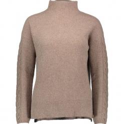 Sweter w kolorze beżowym. Brązowe golfy damskie Gottardi, s, z kaszmiru. W wyprzedaży za 217,95 zł.