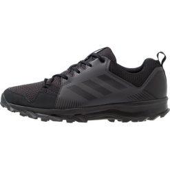 Adidas Performance TERREX TRACEROCKER Obuwie hikingowe core black/utility black. Czarne buty sportowe męskie adidas Performance, z materiału, outdoorowe. Za 379,00 zł.
