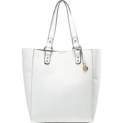 Shopper bag damskie: L.Credi Torebka weiß