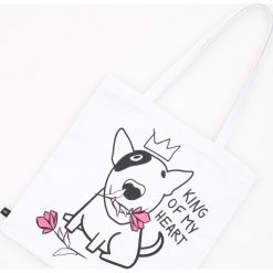 Bawełniana torba - Biały. Białe torebki klasyczne damskie Reserved, z bawełny. Za 19,99 zł.
