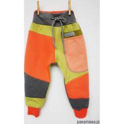 PATCH PANTS spodnie 74 - 98 cm orangina. Szare spodnie dresowe dziewczęce Pakamera, z dresówki. Za 89,00 zł.