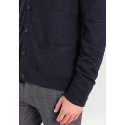 Swetry rozpinane męskie: Abercrombie & Fitch LOOPER Kardigan navy