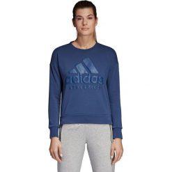 Bluzy rozpinane damskie: Adidas Bluza damska Sports Card Cardigan granatowa r. M (CF1432)