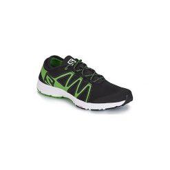 Buty do biegania Salomon  CROSSAMPHIBIAN SWIFT. Czarne buty do biegania męskie marki Salomon, z gore-texu, na sznurówki, gore-tex. Za 279,30 zł.