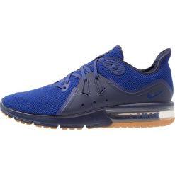 Nike Performance AIR MAX SEQUENT 3 Obuwie do biegania treningowe obsidian/deep royal blue/neutral indigo. Niebieskie buty do biegania męskie Nike Performance, z materiału. Za 459,00 zł.