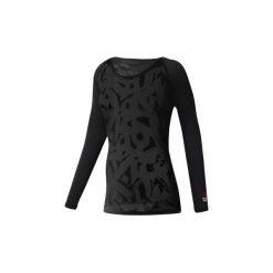 T-shirty z długim rękawem Reebok Sport  Koszulka  CrossFit Burnout. Czarne bluzki sportowe damskie Reebok Sport, m, z długim rękawem. Za 229,00 zł.